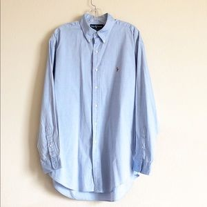 Ralph Lauren Yarmouth Button Front Oxford 16.5-34